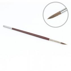 Pincel redondo corto oreja buey Nº8