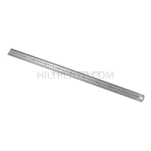 Regla metálica semi rigida 50 cm