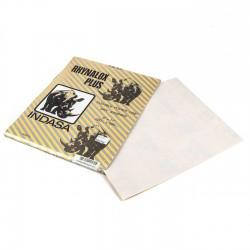 Papel de lija Indasa Rhynalox plus 230x280mm grano 360 - Pack 50 hojas