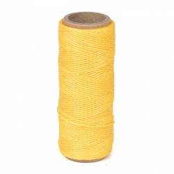 Hilo encerado nylon 1,0 mm - Col. amarillo 040 - Bobina 50 mts