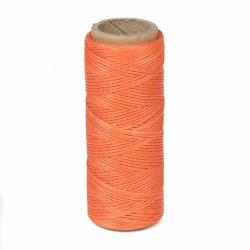 Hilo encerado nylon 1,0 mm - Col. naranja 027 - Bobina 50 mts