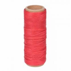 Hilo encerado nylon 1,0 mm - Col. rojo 576 - Bobina 50 mts