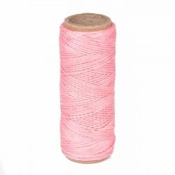 Hilo encerado nylon 1,0 mm - Col. rojo 320 - Bobina 50 mts