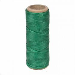 Hilo encerado nylon 1,0 mm - Col. verde 402 - Bobina 50 mts