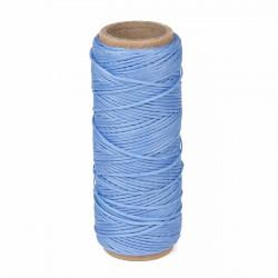 Hilo encerado nylon 1,0 mm - Col. azul claro 196 - Bobina 50 mts