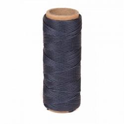 Hilo encerado nylon 1,0 mm - Col. azul marino 799 - Bobina 50 mts