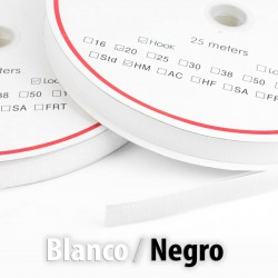 Velcro adhesivo 50 mm - Rollo 25 metros