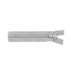 Cremallera Relámpago 12 cm - Gris claro - Pack 50 uds