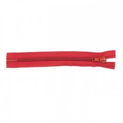 Cremallera Relámpago 14 cm - Rojo 1608 - Pack 50 uds
