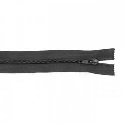 Cremallera CCA 42 cm soldada - Negro - Pack 14 uds