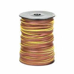 Cordón náutico cuero 20 3.5 mm - Carrete 50 mts
