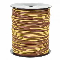 Cordón náutico cuero 20 3.5 mm - Carrete 200 mts
