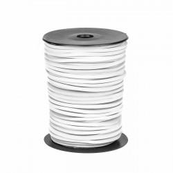 Cordón náutico cuero blanco 3.5 mm - Carrete 50 mts