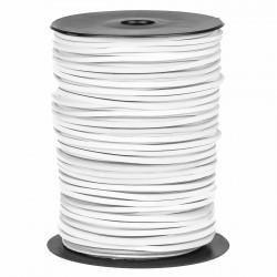 Cordón náutico cuero blanco 3.5 mm - Carrete 200 mts