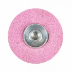 Piedra rebajado afilar rosa con casquillo 70x7x6MA mm