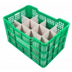 Cubeta apilable Ref.FC con separadores