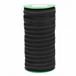 Elástico Negro 14 mm EP-26 Hilo transparente - Rollo 100 mts