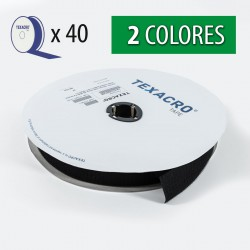 Cinta velcro texacro 30 mm - Caja 40 rollos