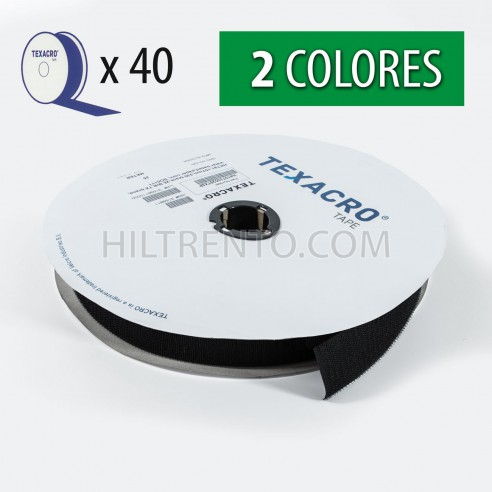 Cinta velcro texacro 30 mm - Rollo 25 metros