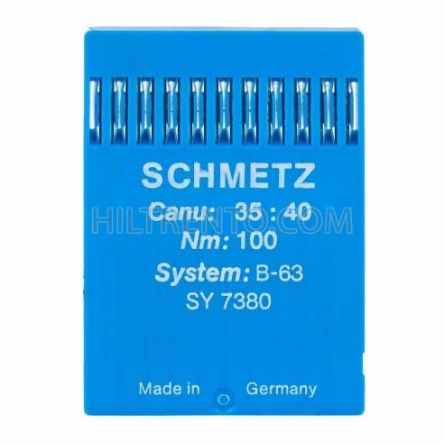 Aguja Smetz B-63 SY 7380 Nm 100 - Pack 10 uds