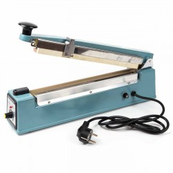 Maquina selladora termica de bolsas 300 mm con guillotina