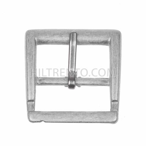 Hebilla cinturón 25mm gris
