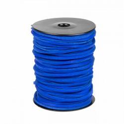 Cordón náutico cuero azulón 3.5 mm - Carrete 50 mts