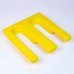 Soporte plastico para carro de via calzado