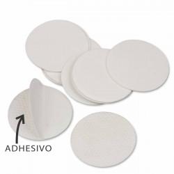 Pegatina circulo doble cara adhesivo 2 caras - Bolsa 1000 uds