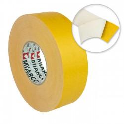 Cinta doble cara moquetas 50mm x 50mts - Caja 12 rollos