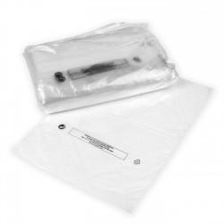 Bolsa transparente seguridad perforada 25x35 - Pack 1 kg