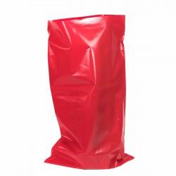 Saco plástico rojo opaco G400 50x90cm - pack 25 uds
