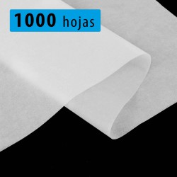 Papel seda blanco 30x70 cm - Pack 1000 hojas