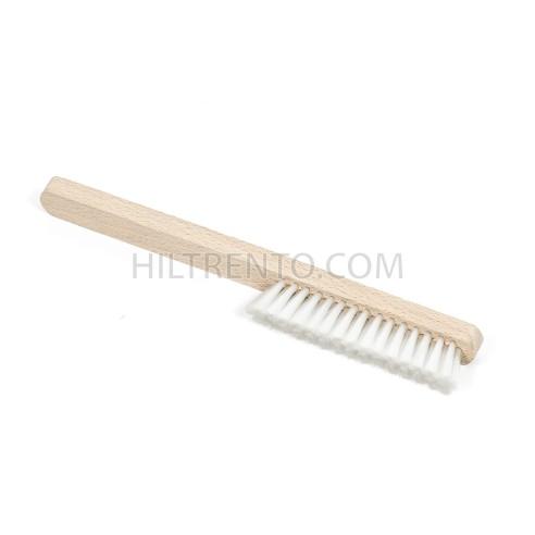 Cepillo manual nylon para disolventes mango madera