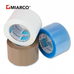 Precinto gama azul 72mm x 132m Marrón