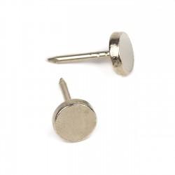 Tachuela cabeza plana 7.5 mm RJ2077 níquel - Pack 1000 uds