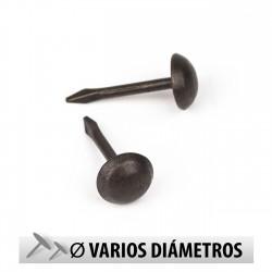 Tachuelas semiplanas cobre oscuro - Pack 1000 uds