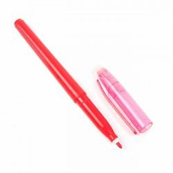 Rotulador figurar rojo, borrable con calor