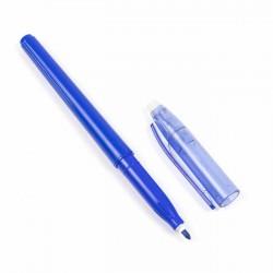 Rotulador figurar azul, borrable con calor