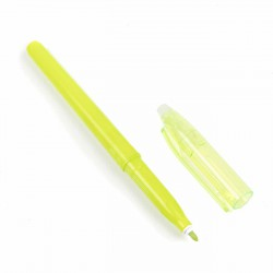 Rotulador figurar verde claro, borrable con calor