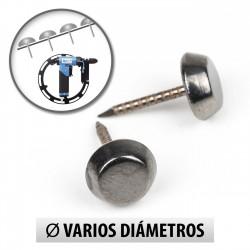 Tachuelas falso tornillo 6.5mm para máquina - Pack 1000 uds