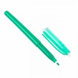 Rotulador frixion figurar verde oscuro, borrable con calor