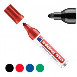 Rotulador marcador permanente Edding 550