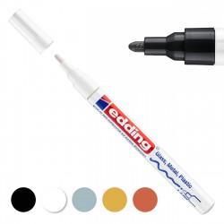 Rotulador tinta opaca Edding 751