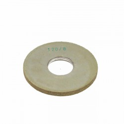 Carda cepillo circular goma con alambre para lijar 120x8 mm F.40