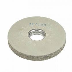 Carda cepillo circular goma con alambre para lijar 160x20 mm F.40