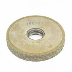 Carda cepillo circular goma con alambre para lijar 160x25 mm F.40