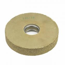 Carda cepillo circular goma con alambre para lijar 160x30 mm F.40