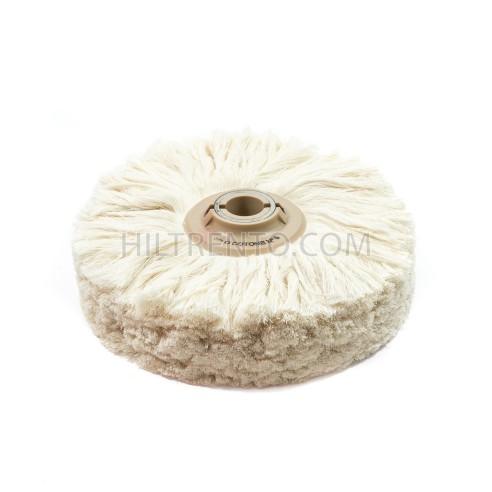 Cepillo hilo algodón para abrillantado