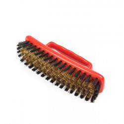 Cepillo latón-nylon cuerpo plástico con asa 150 x 40 mm